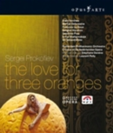 THE LOVE FOR THREE ORANGES, PROKOFIEV, SERGEI, DENSVE, S. ROTTERDAM P.O./S.DENEVE//*BLU RAY* Blu-Ray, S. PROKOFIEV, Blu-Ray
