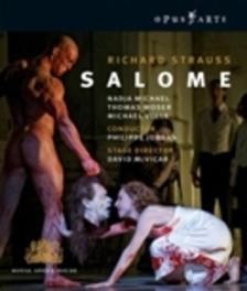 SALOME, STRAUSS, RICHARD, JORDAN, P. ROYAL OPERA HOUSE COVENT GARDEN Blu-Ray, R. STRAUSS, BLURAY