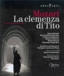 LA CLEMENZA DI TITO, MOZART, WOLFGANG AMADEUS, CAMBRELING, S. ORCH.OF OPERA NAT.DE PARIS/SYLVAIN CAMBRELING Blu-Ray, W.A. MOZART, Blu-Ray