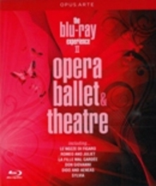 THE BLU-RAY EXPERIENCE II, OPERA & HANDEL/DELIBES/MOZART/SHAKESPEARE/PURCELL/& MORE Blu-Ray, V/A, Blu-Ray