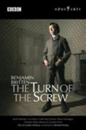 THE TURN OF THE SCREW, BRITTEN, HICKOX, R. CITY OF LONDON SINFONIA/RICHARD HICKOX DVD, B. BRITTEN, DVD