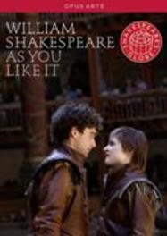 AS YOU LIKE IT, SHAKESPEARE, WILLIAM HUGHES/LASKEY/MARTIN/PARKER // NTSC/ALL REGIONS DVD, W. SHAKESPEARE, DVD