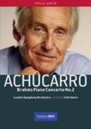 PIANO CONCERTO 2, BRAHMS, JOHANNES, DAVIS, C. NTSC/ALL REG.//ACHUCARRO, LONDON S.O., CO. COLIN DAVIS DVD, J. BRAHMS, DVDNL
