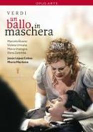 UN BALLO IN MASCHERA, VERDI, GIUSEPPE, LOPEZ COBOS, J. ALVARAREZ/URMANA/VRATOGNA/NTSC/ALL REGIONS DVD, G. VERDI, DVDNL