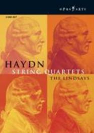 STRING QUARTETS, HAYDN NTSC/ALL REGIONS -THE LINDSAYS DVD, J. HAYDN, DVDNL