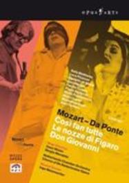 COSI FAN TUTTI/LE NOZZE DI FIGARO/D, MOZART, WOLFGANG AMADEUS, METZMACHER, I. .. DI FIGARO//MAGEE/PISARONI/MATTHEWS/METZMACHER DVD, W.A. MOZART, DVDNL