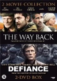 The Way Back + Defiance (2DVD)