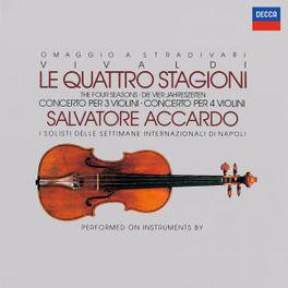 DIE VIER JAHRESZEITEN ACCARDO I SOLISTI DI NAPOLI Audio CD, A. VIVALDI, CD