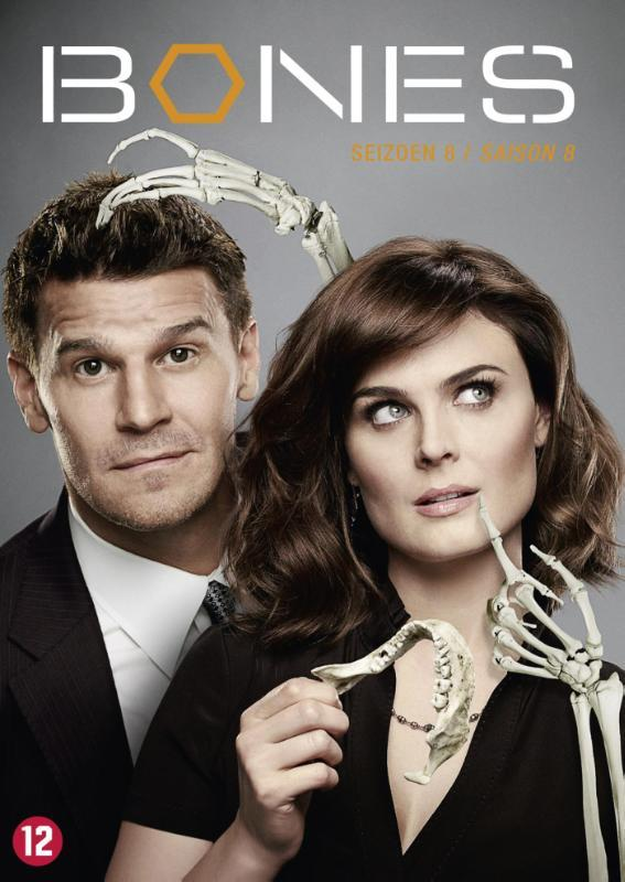 Bones - Seizoen 8 , (DVD) BILINGUAL // W/ DAVID BOREANAZ TV SERIES, DVDNL