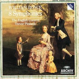 SYMPHONIES OP.2 NOS.1-8 EC/PINNOCK Audio CD, W. BOYCE, CD
