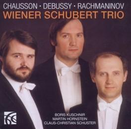 CHAUSSON/DEBUSSY/RACHMANI WIENER SCHUBERT TRIO, CD