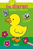 Plakken en kleuren: Dieren...