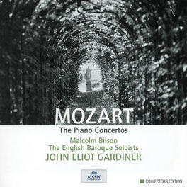PIANO CONCERTOS BILSON/EBS/GARDINER Audio CD, W.A. MOZART, CD