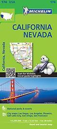 Michelin USA California, Nevada Map 174 Michelin, onb.uitv.