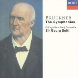 SYMPHONIES *BOX* W/CHICAGO SYMPHONY ORCHESTRA, GEORG SOLTI Audio CD, A. BRUCKNER, CD
