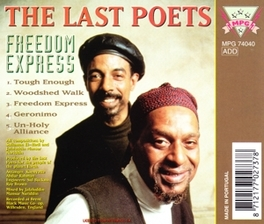 FREEDOM EXPRESS Audio CD, LAST POETS, CD