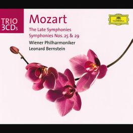LATE SYMPHONIES VIENNA P.O./LEONARD BERNSTEIN Audio CD, W.A. MOZART, CD