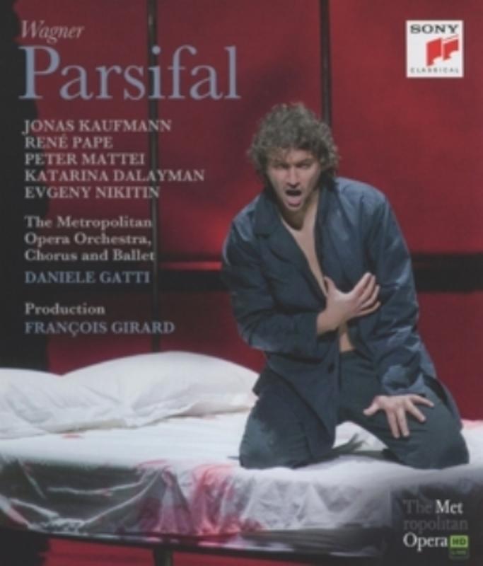 PARSIFAL DANIELE GATTI R. WAGNER, BLURAY