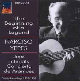 BEGINNING OF A LEGEND 195 NARCISO YEPES, CD