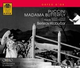 MADAMA BUTTERFLY KLOBUCAR, B.//JURINAC/ROSSEL-MAJDAN/JANOWITZ/WIEN Audio CD, GIACOMO PUCCINI, CD