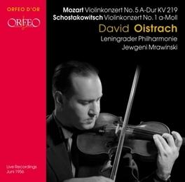 VIOLIN CONCERTO NO.5 & NO LENINGRAD S.O./MRAWINSKI/OISTRAKH//WORKS:MOZART/SHOSTAK Audio CD, MOZART/SHOSTAKOVICH, CD