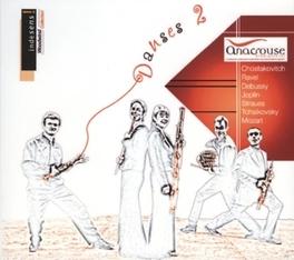 DANSES 2 ANACROUSE Audio CD, SHOSTAKOVICH/MOZART, CD