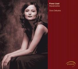 PIANO WORKS DELIYSKA, DORA Audio CD, F. LISZT, CD