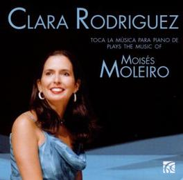 MUSICA PARA PIANO CLARA RODRIGUEZ Audio CD, M. MOLEIRO, CD