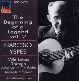 BEGINNING OF A LEGEND VOL NARCISO YEPES, CD