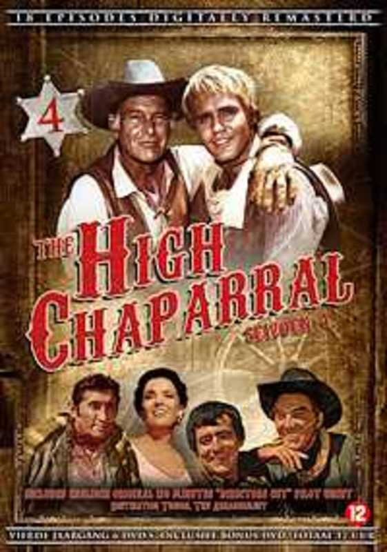 DVD The High Chaparral (DVD-box)
