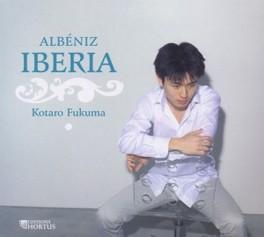 IBERIA, 12 NOUVELLES IMPR KOTARO FUKUMA I. ALBENIZ, CD
