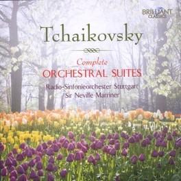 COMPLETE ORCHESTRAL SUITE RSO STUTTGART/NEVILLE MARRINER P.I. TCHAIKOVSKY, CD