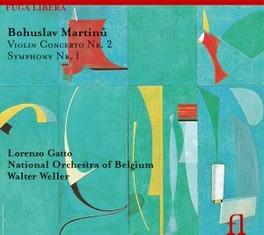 VIOLIN CONCERTO NO.2 NAT.ORCHESTRA OF BELGIUM/LORIN MAAZEL B. MARTINU, CD