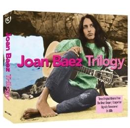 TRILOGY -3CD- CD1:JOAN BAEZ VOL.1/CD2:JOAN BAEZ VOL.2/CD3:FOLKSINGERS JOAN BAEZ, CD