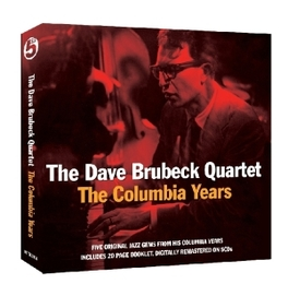 COLUMBIA YEARS -5CD- 5 ORIGINAL ALBUMS, DIGITALLY REMASTERED + 20 PGS. BOOK BRUBECK, DAVE -QUARTET-, CD