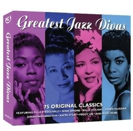 GREATEST JAZZ DIVAS. 75.. .. ORIGINAL CLASSICS ON 3 CD'S V/A, CD