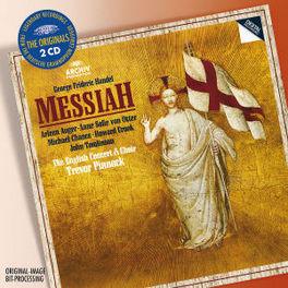 MESSIAH THE ENGLISH CONCERT/TREVOR PINNOCK Audio CD, G.F. HANDEL, Audio Visuele Media