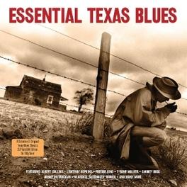ESSENTIAL TEXAS BLUES 2LP, 28 TRACKS. DIG REMAST. V/A, LP