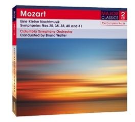 EINE KLEINE NACHTMUSIK COLUMBIA S.O./BRUNO WALTER W.A. MOZART, CD