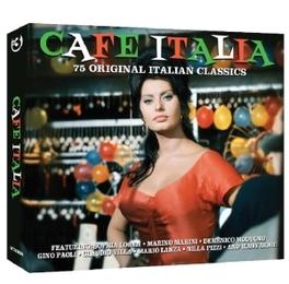 CAFE ITALIA 75 ORIGINAL ITALIAN CLASSICS V/A, CD