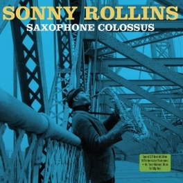 SAXOPHONE COLOSSUS +.. .. TENOR MADNESS. 2LP, IN GATEFOLD SLEEVE ON 180 GR. SONNY ROLLINS, Vinyl LP