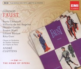 FAUST CLUYTENS/CHRISTOFF C. GOUNOD, CD
