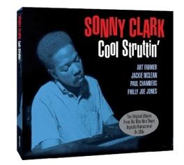 COOL STRUTTIN'/SONNY.. .. CLARK TRIO. 2 ORG LP'S SONNY CLARK, CD