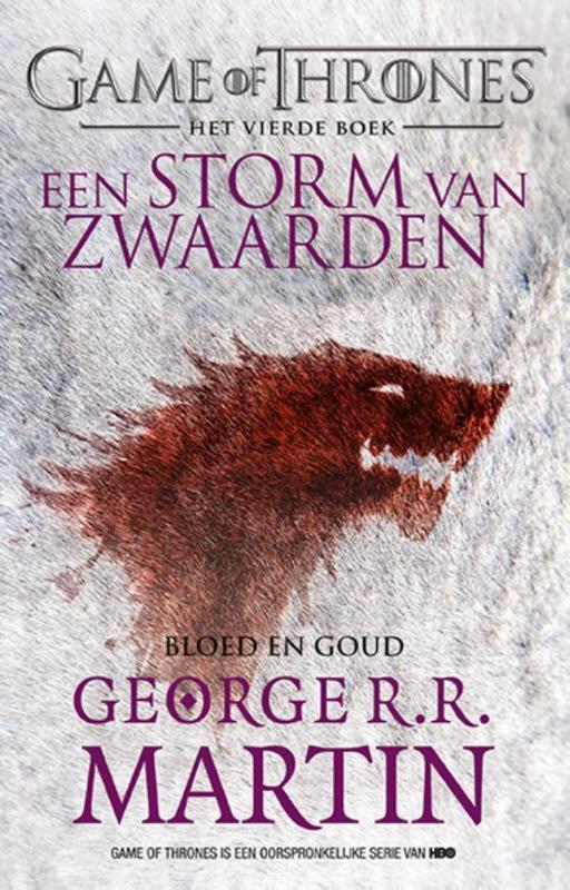 Een storm van zwaarden: Bloed en goud Game of Thrones, Martin, George R.R., Paperback