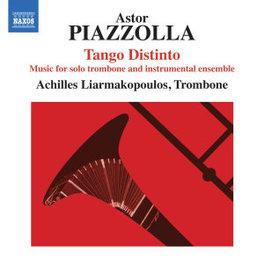 PIAZZOLLA TANGO DISTINTO ACHILLES LIARMAKOPOULOS, CD