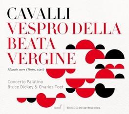 VESPRO DELLA BEATE VIRGIN CONCERTO PALATINO F. CAVALLI, CD