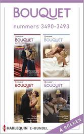 Bouquet e-bundel nummers 3490-3493 (4-in-1) Onfatsoenlijk opwindend ; Gevangen in zijn macht ; Trots en vooroordelen ; Onmogelijke keus, Morgan, Sarah, Ebook