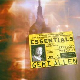 ESSENTIALS GERI ALLEN, CD