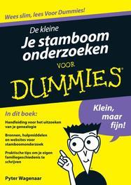 De kleine Je stamboom onderzoeken voor Dummies Wagenaar, Pyter, Ebook