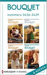 Bouquet e-bundel nummers 3436-3439 (4-in-1) Versluierde passie ; Meedogenloos voorstel ; In handen van de sjeik ; Een overwachte erfenis, Hewitt, Kate, Ebook
